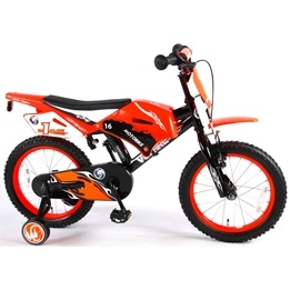 "Volare - Motorbike 16"" 95% Orange"