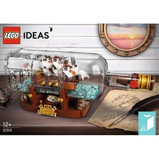 LEGO Ideas 21313, Flaskskepp