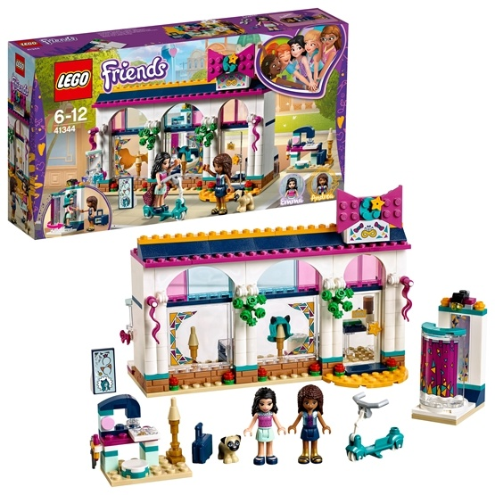 LEGO Friends - Andreas accessoarbutik 41344