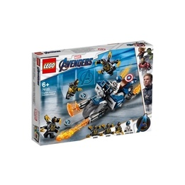 LEGO Super Heroes 76123 - Captain America: Outriders Attack