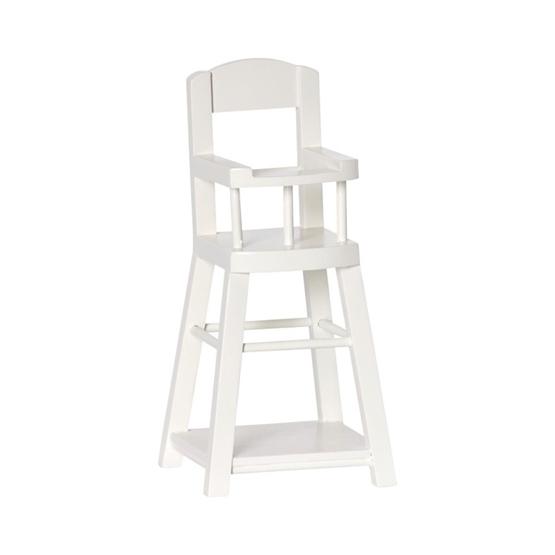Maileg, High Chair for Micro, offwhite