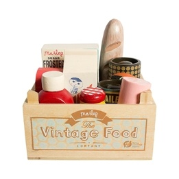 Maileg, Vintage Food, Grocery box
