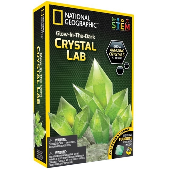 National Geographic, Glow In Dark Crystal Green