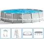 Intex Prism Rund pool metallram 457 x 122 cm