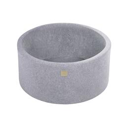 Meow Baby - Bollhav Sammet - Light Grey