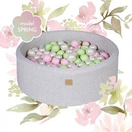 Meow Baby - Bollhav Spring Set Med 250 bollar - 30 Cm