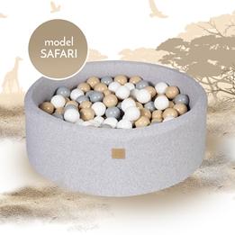 Meow Baby - Bollhav Safari Med 250 bollar - 30 Cm