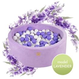 Meow Baby - Bollhav Lavendel Med 250 bollar - Lila - 30 Cm