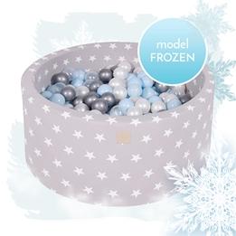 Meow Baby - Bollhav Frozen Med 250 bollar - Lila - 40 Cm