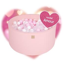 Meow Baby - Bollhav Amor Med 250 bollar - Rosa - 40 Cm