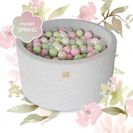 Meow Baby - Bollhav Spring Set Med 250 bollar - 40 Cm