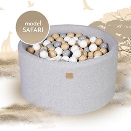 Meow Baby - Bollhav Safari Med 250 bollar - 40 Cm