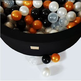 Meow Baby - Bollhav med 250 Bollar - Glamour - 30 Cm