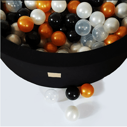 Meow Baby - Bollhav med 250 Bollar - Glamour - 40 Cm