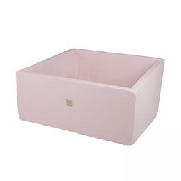 Meow Baby - Bollhav - Light Pink Square - 110x110x40 Cm