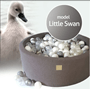 Meow Baby - Bollhav - Little Swan - 30 Cm