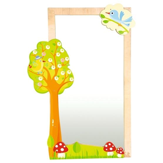Moje Bambino, Spegel med träd och fåglar