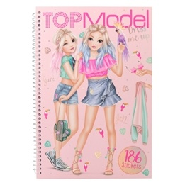 TOPModel, Dress Me Up Stickersbok Tropical