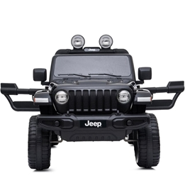Jeep - Elbil - Wrangler Rubicon - Svart