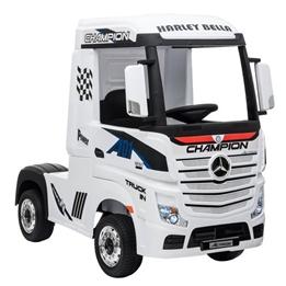 Elbil - Mercedes Actros Truck - Vit