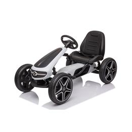 Gokart - Mercedes Benz - Vit