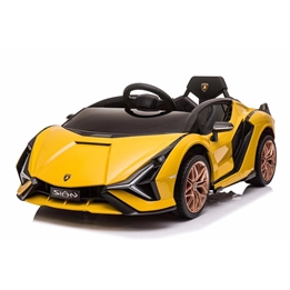 Elbil - Lamborghini Sian - Gul