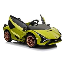 Elbil - Lamborghini Sian - Grön