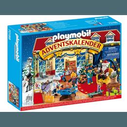 Playmobil Christmas - Adventskalender Tomtens besök i leksaksaffären