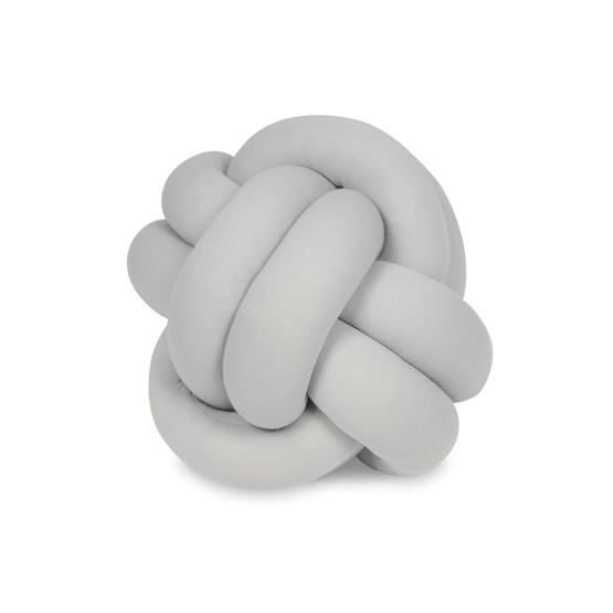 PQP - Kudde - Knutkudde - Knot Liten Boll - Grå