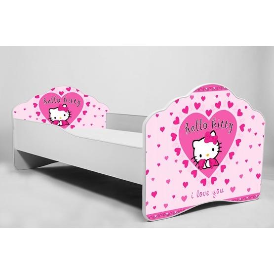 Barnsäng - Fala Med Madrass Och Extrasäng - Hello Kitty