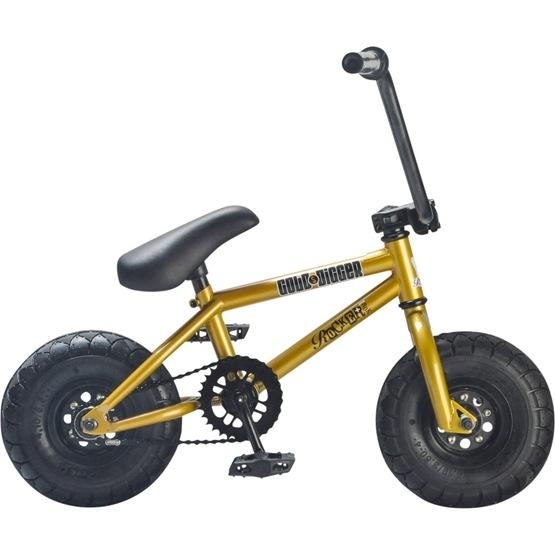 Rocker - Irok+ Gold Digger Mini BMX Cykel