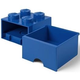LEGO Förvaringsbox 4 med lådor (Blå)