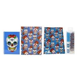 Mexican Skull, Skolstartskit
