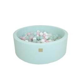 Meow Baby - Bollhav - Mint - Pastellrosa/Mint/Transparent/Vita Bollar