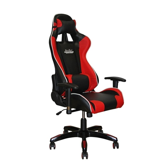 Stanlord - Spelstol - Sioux Gamer Chairs - Black/Red