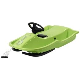 Stiga - Snowpower Styrpulka med broms (Grön)
