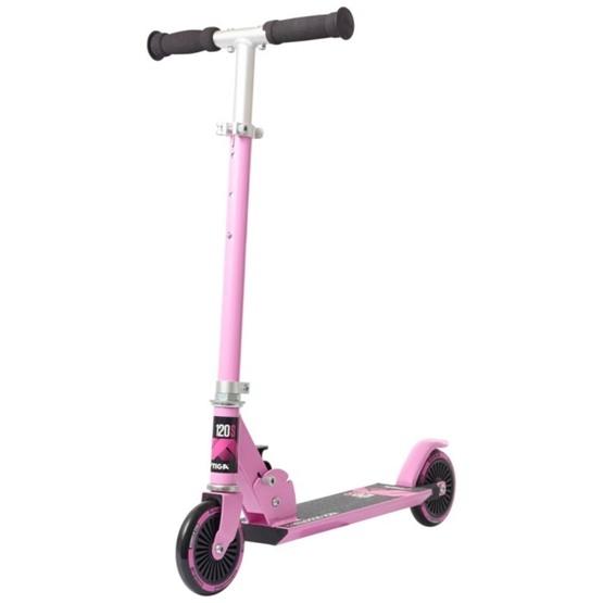 STIGA, Sparkcykel, Kick Scooter Comet 120-S, lila