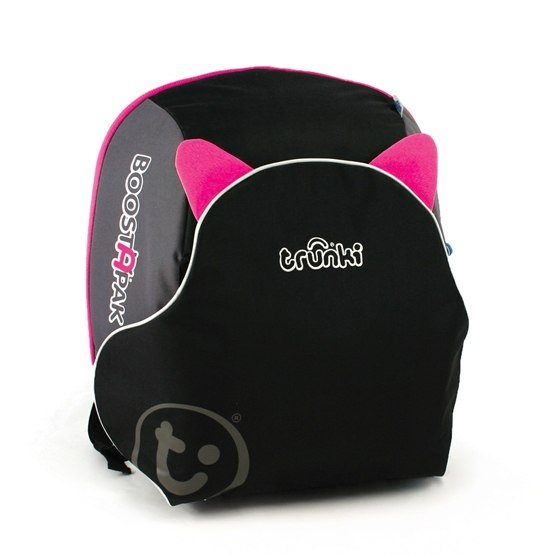 Trunki - Boostapak Black/Pink