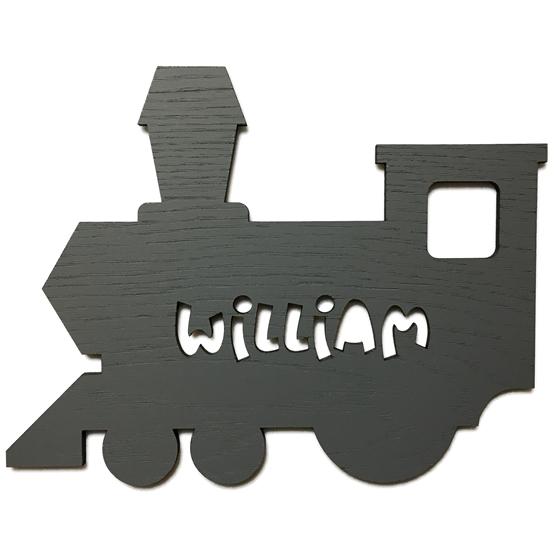 Väggdekoration Figurskylt Tåg