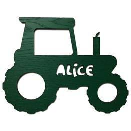 Väggdekoration Figurskylt Traktor