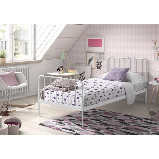 Alice - Säng 90 x 200 Cm - Vit