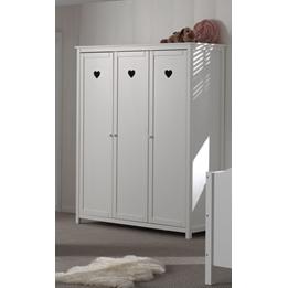 Amori - Garderob Med 3 Dörrar