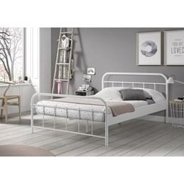 Säng - Boston 140x200 Cm - Vit