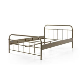 Säng - Boston 140x200 Cm - Guld