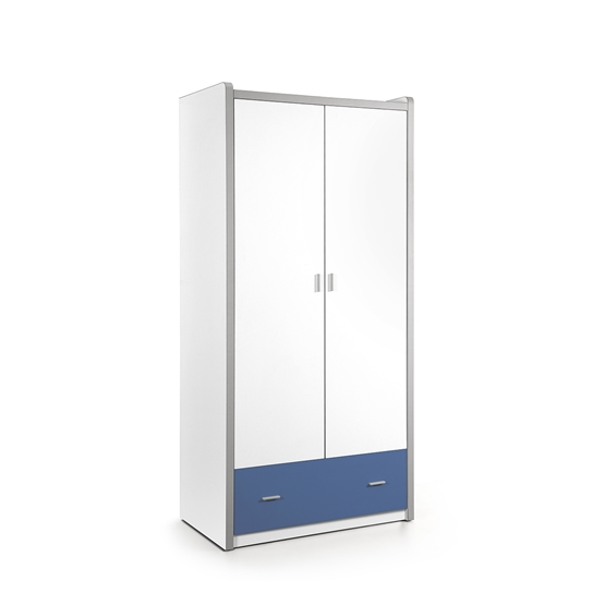 Garderob - Bonny 2 Dörrar - Blå