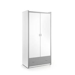 Garderob - Bonny 2 Dörrar - Silver