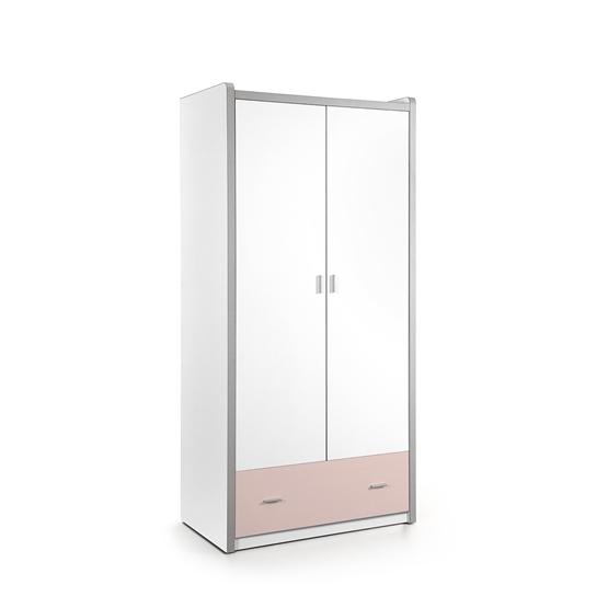 Garderob - Bonny 2 Dörrar - Ljusrosa