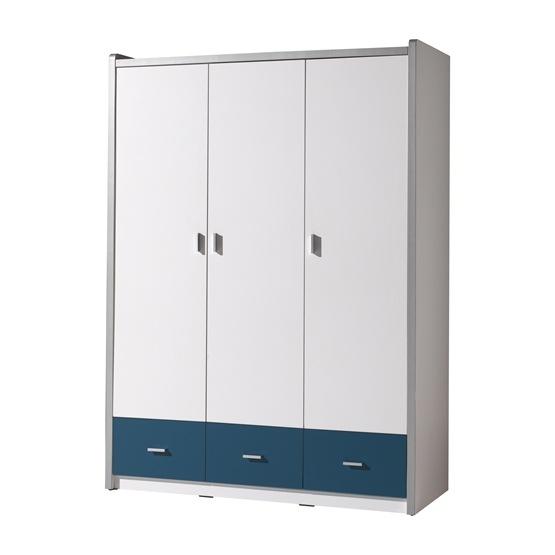 Garderob - Bonny 3 Dörrar - Blå