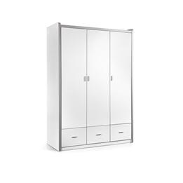 Garderob - Bonny 3 Dörrar - Vit