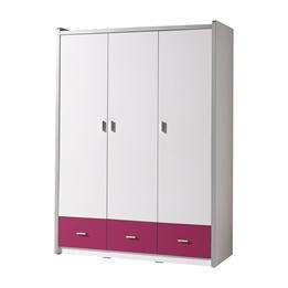 Garderob - Bonny 3 Dörrar - Fuchsia